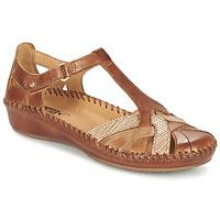 Topánky Ženy Sandále Pikolinos PUERTO VALLARTA 655 ťavia hnedá