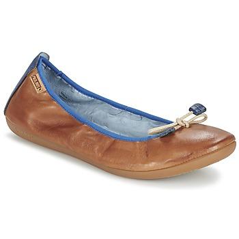 Topánky Ženy Balerínky a babies Pikolinos BORA BORA Ťavia hnedá