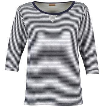 Oblečenie Ženy Mikiny Napapijri BOISSERON Námornícka modrá / Biela