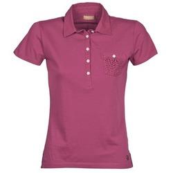 Oblečenie Ženy Polokošele s krátkym rukávom Napapijri EZE Ružová
