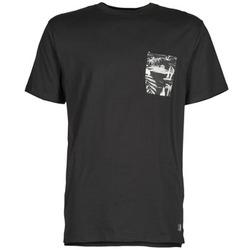 Oblečenie Muži Tričká s krátkym rukávom DC Shoes WOODGLEN čierna