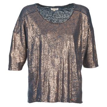 Oblečenie Ženy Tričká s krátkym rukávom Miss Sixty FOX Námornícka modrá / Zlatá