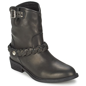 Topánky Ženy Polokozačky Jonak LAMARIO čierna