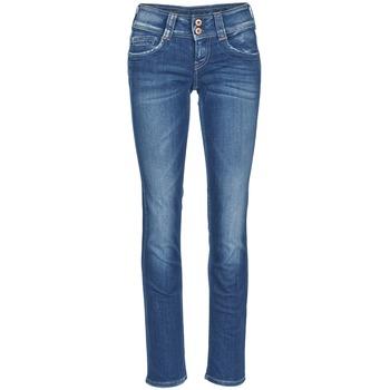 Oblečenie Ženy Rovné Rifle  Pepe jeans GEN Modrá / D45