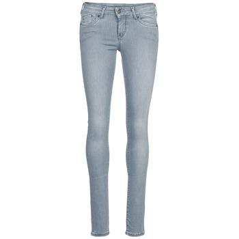 Oblečenie Ženy Džínsy Slim Pepe jeans PIXIE šedá / Q81