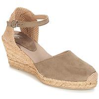 Topánky Ženy Sandále Betty London TECHNO Hnedošedá