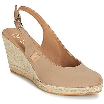 Topánky Ženy Sandále Betty London TECHNO Béžová