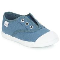 Topánky Deti Nízke tenisky Citrouille et Compagnie RIVIALELLE Modrá / Jeans