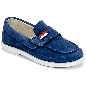 Topánky Chlapci Mokasíny Citrouille et Compagnie LILMOUSSE Modrá / Námornícka modrá