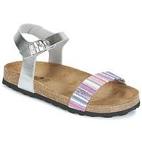 Topánky Dievčatá Sandále Citrouille et Compagnie IGUANA Strieborná / Viacfarebná