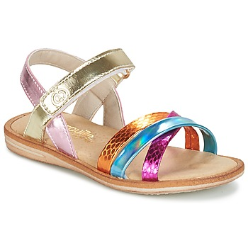 Topánky Dievčatá Sandále Citrouille et Compagnie MINIRAVI Viacfarebná