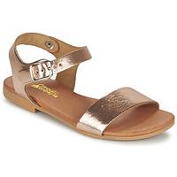 Topánky Dievčatá Sandále Citrouille et Compagnie JOUBI Medená