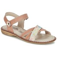 Topánky Dievčatá Sandále Citrouille et Compagnie JANDOLI Svetlá telová