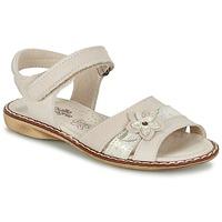 Topánky Dievčatá Sandále Citrouille et Compagnie ANDALIA Béžová