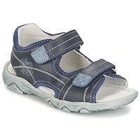 Topánky Chlapci Sandále Citrouille et Compagnie RAMTIGA Modrá