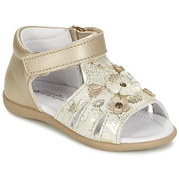 Topánky Dievčatá Sandále Citrouille et Compagnie PAQUETI Béžová