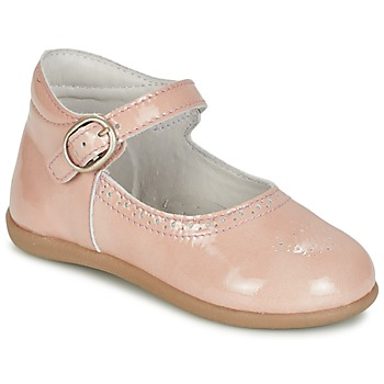 Topánky Dievčatá Balerínky a babies Citrouille et Compagnie BOUJBOUJ Ružová