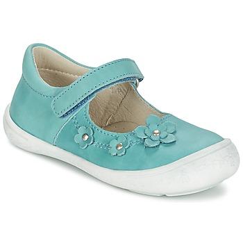 Topánky Dievčatá Balerínky a babies Citrouille et Compagnie MELINA BIS Modrá