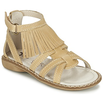 Topánky Dievčatá Sandále Citrouille et Compagnie CONQUITA Béžová