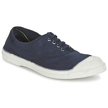 Topánky Ženy Nízke tenisky Bensimon TENNIS LACET Námornícka modrá