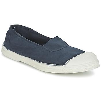 Topánky Ženy Nízke tenisky Bensimon TENNIS ELASTIQUE Námornícka modrá
