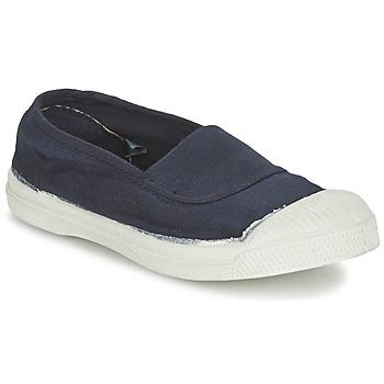 Topánky Deti Nízke tenisky Bensimon TENNIS ELASTIQUE Námornícka modrá