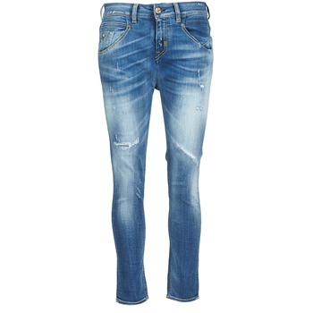 Oblečenie Ženy Rovné džínsy Meltin'pot LEIA Modrá / Clear