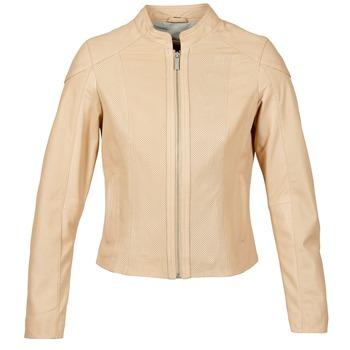 Oblečenie Ženy Kožené bundy a syntetické bundy Oakwood 61848 Béžová / Svetlá telová