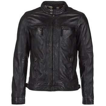 Oblečenie Muži Kožené bundy a syntetické bundy Oakwood CASEY Čierna