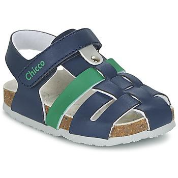 Topánky Chlapci Sandále Chicco HAMBRO Námornícka modrá
