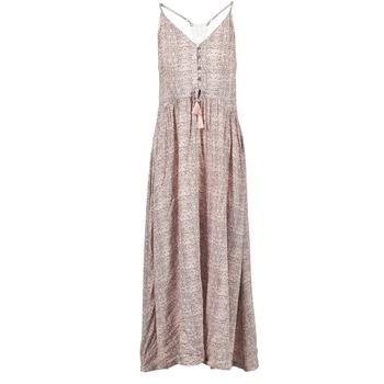 Oblečenie Ženy Dlhé šaty Rip Curl SNAKE Ružová