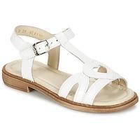 Topánky Dievčatá Sandále Aster TCHANIA Biela