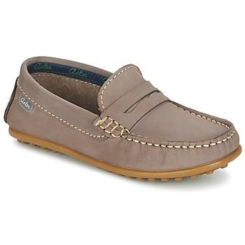 Topánky Chlapci Mokasíny Aster MOCADI Béžová