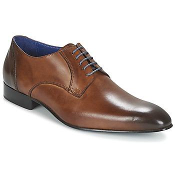 Topánky Muži Derbie Carlington EMRONE Hnedá