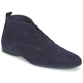 Topánky Muži Polokozačky Carlington EONARD Modrá