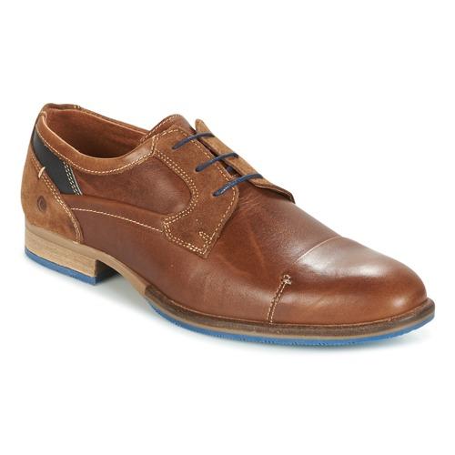 Topánky Muži Derbie Carlington ENDRI Ťavia hnedá