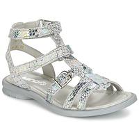 Topánky Dievčatá Sandále Mod'8 JUJU Strieborná