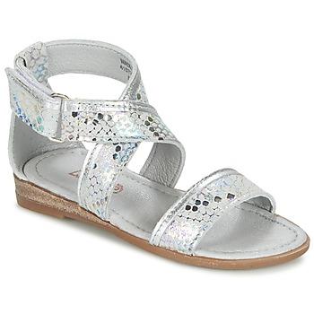 Topánky Dievčatá Sandále Mod'8 JOYCE Strieborná