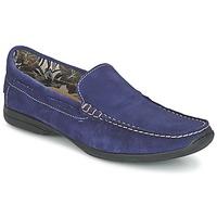 Topánky Muži Mokasíny So Size ELIJA Modrá