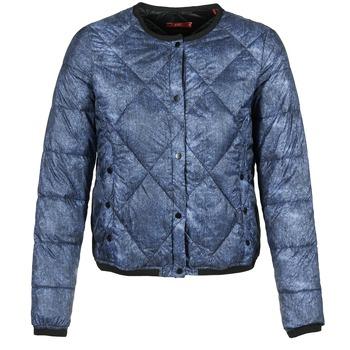 Oblečenie Ženy Vyteplené bundy Esprit OJALA Námornícka modrá