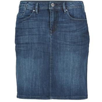 Oblečenie Ženy Sukňa Esprit MAFGA Modrá / MEDIUM