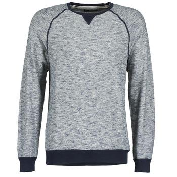 Oblečenie Muži Svetre Esprit LOMALI Námornícka modrá / Frkaná / šedá