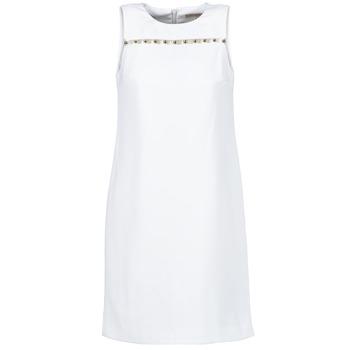 Oblečenie Ženy Krátke šaty MICHAEL Michael Kors MS68W2L3GZ Biela