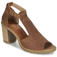 Topánky Ženy Sandále Casual Attitude GUIGNET ťavia hnedá