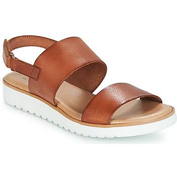 Topánky Ženy Sandále Casual Attitude FULIGULE Ťavia hnedá