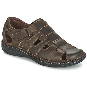 Topánky Muži Sandále Casual Attitude ZIRONDEL Hnedá