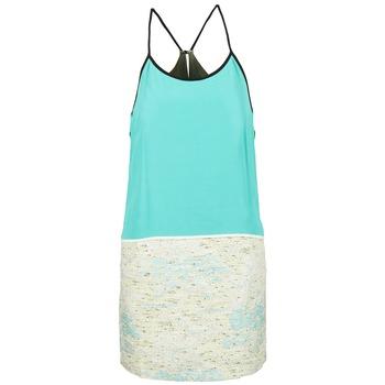 Oblečenie Ženy Krátke šaty See U Soon ELEMAILLE Modrá / Biela