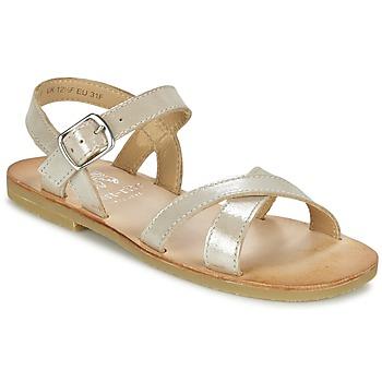 Topánky Dievčatá Sandále Start Rite NICE II Zlatá