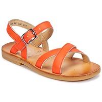 Topánky Dievčatá Sandále Start Rite NICE II Oranžová