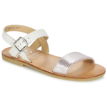 Topánky Dievčatá Sandále Start Rite FLORA II Ružová / Biela